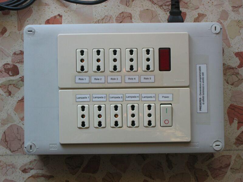 Sasa sbarra progetto generatore programmabile di effetti - Convettori elettrici da parete ...